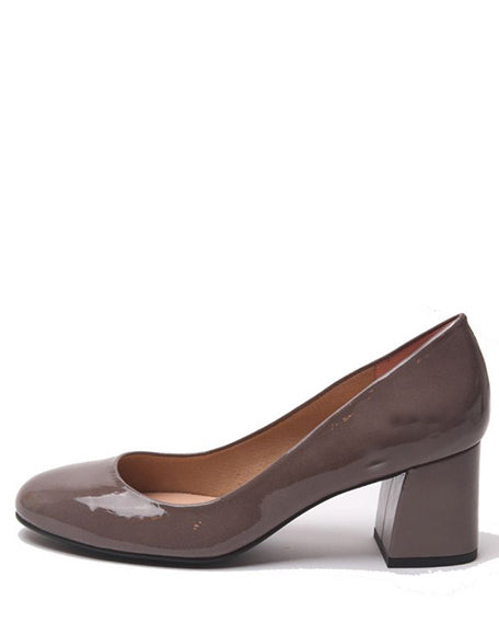 Trance Heel | Taupe Patent