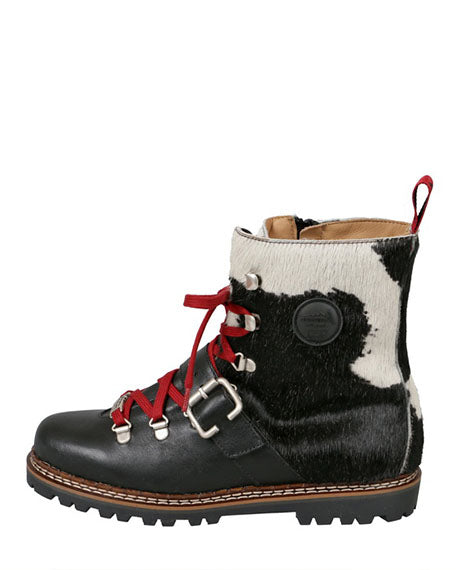 Cervinia Boot | Black & White