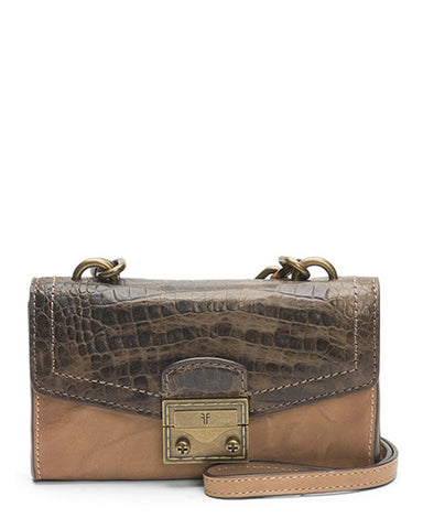 Ella Phone Crossbody Bag | Beige Multi