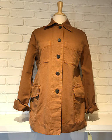 Officers Jacket | Mocha