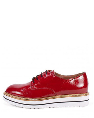 Bethel Patent Oxford | Red