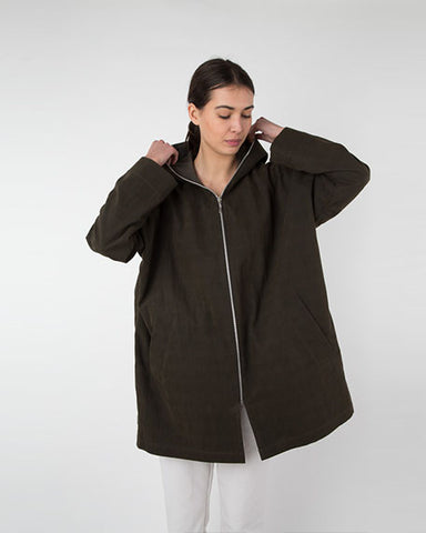 Renata Coat | Loden Green