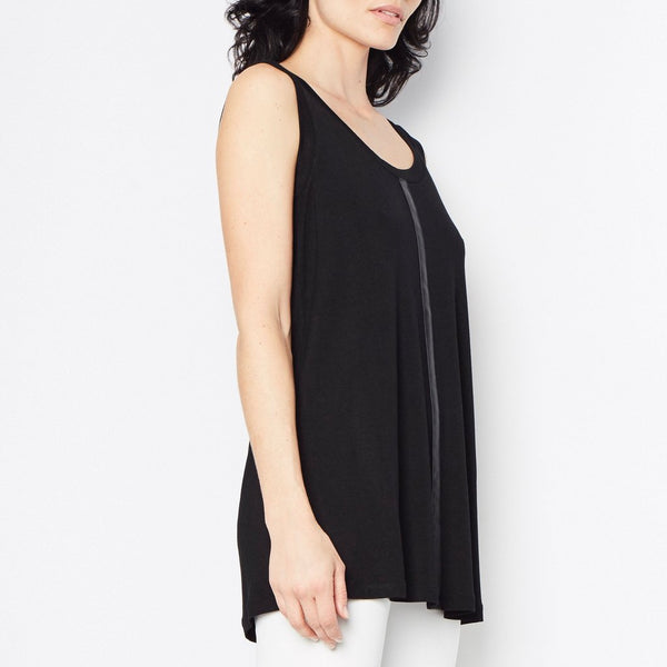 Ross Jersey Top | Black