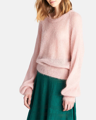 Sabrina Mohair Sweater | Carnation Pink