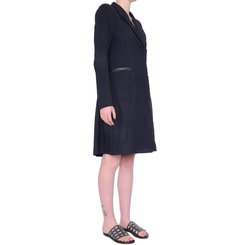 Sawyer Convertible Coat Dress | Black