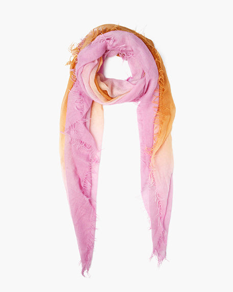 Cashmere & Silk Scarf | Violet & Cathay Spice