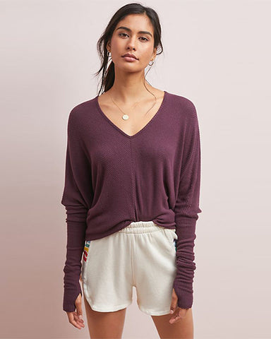 Grace Sweater | Bordeaux