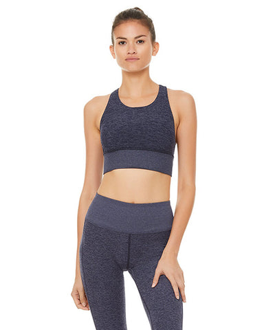 Alosoft Serenity Bra | Rich Heather Navy