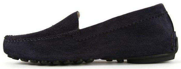 Stella Driving Moccasin | Navy Suede
