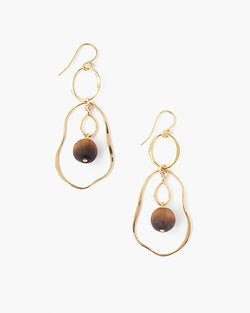 Imperfect Hoops | Matte Tiger's Eye