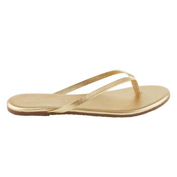 Metallic Leather Flip Flop | Blink