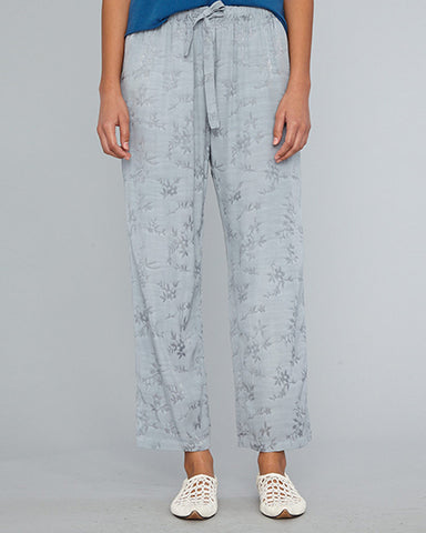Drawstring Trouser | Dusty Blue