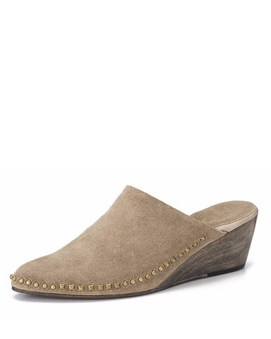 Ulla Mini Wedge | Wood Smoke