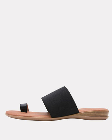 Vini Stretch Sandal | Black