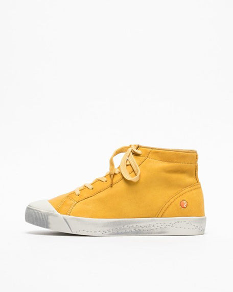Kip Hightop Sneaker | Yellow