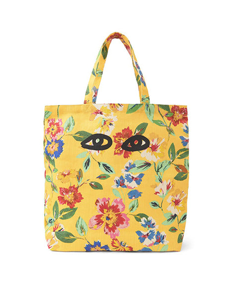 Saturday Tote in Yellow Floral