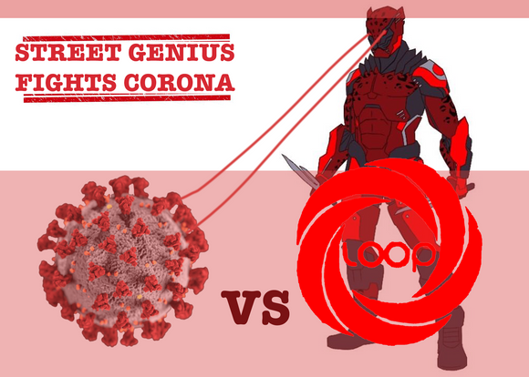 Street Genius Joins The Fight against Corona