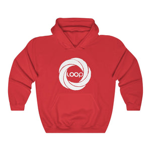 """Loop"" Unisex Heavy Hooded Sweatshirt (Multi-Colors)"