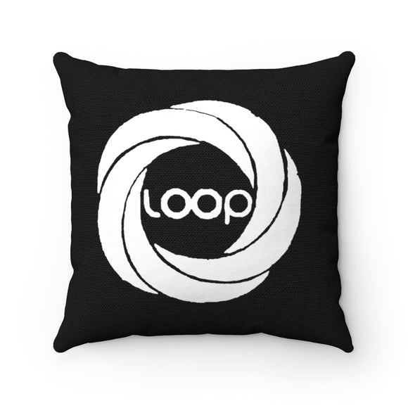 Loop Spun Polyester Square Pillow