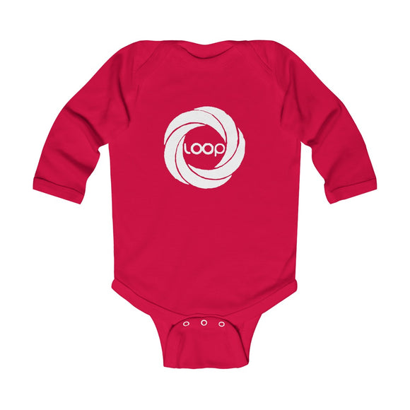 Loop Infant Long Sleeve Bodysuit