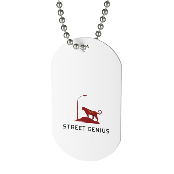 Street Genius Dog Tag