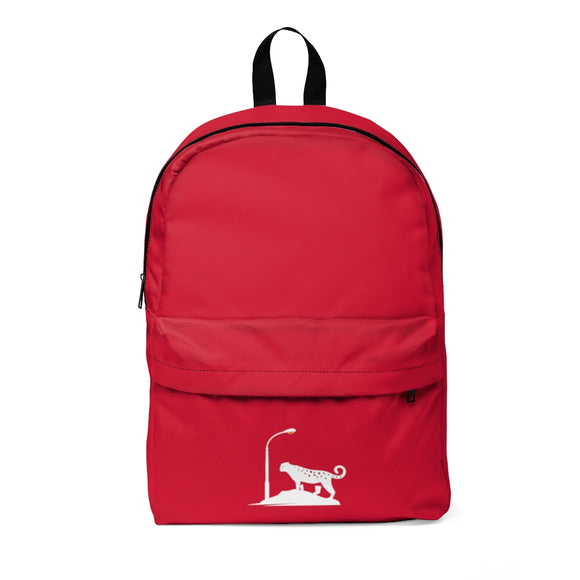 Red Leopard Unisex Classic Backpack