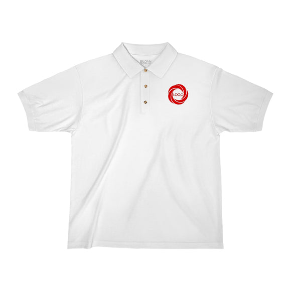 Loop Men's Jersey Polo Shirt (Multi-Colors)