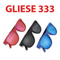 Gliese 333 (Wireless Headset, Voice Activated, Microphone, Smart Glasses)
