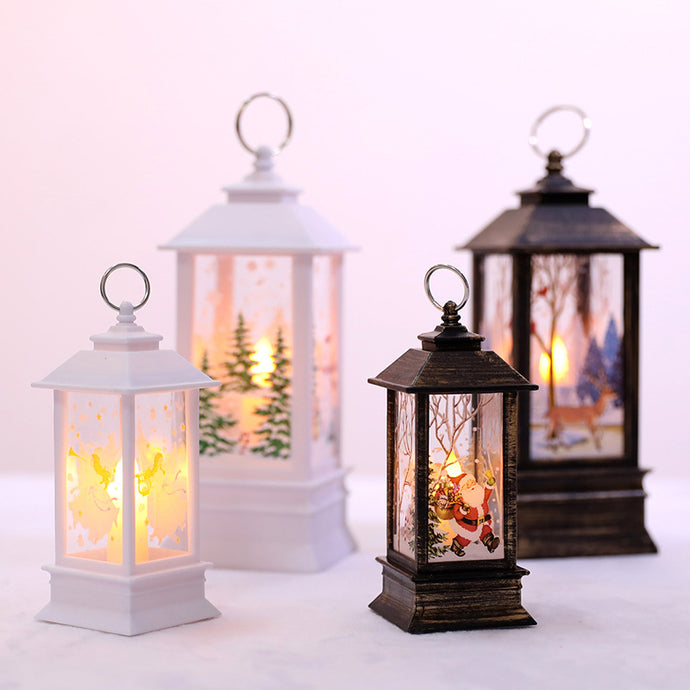 LED Christmas Lanterns - 1 Piece-Decor-Discounted Holidays