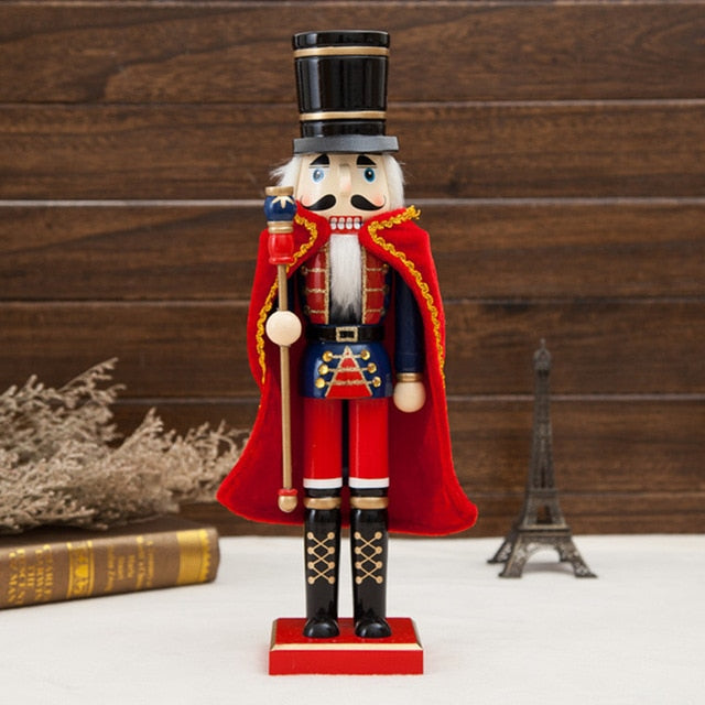 Wooden Nutcracker Soldiers - 15 in. (1 Piece)-Christmas-Discounted Holidays