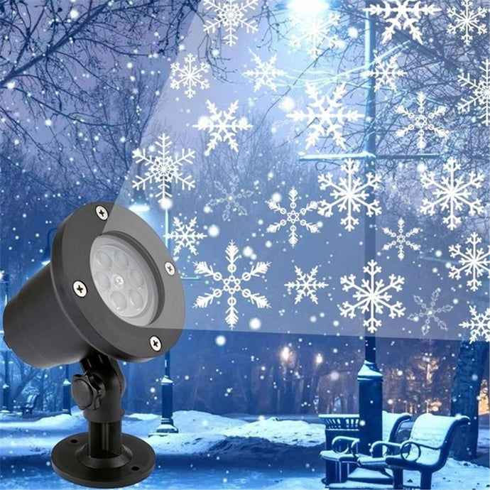 LED Christmas lights house projector - waterproof-Christmas-Discounted Holidays