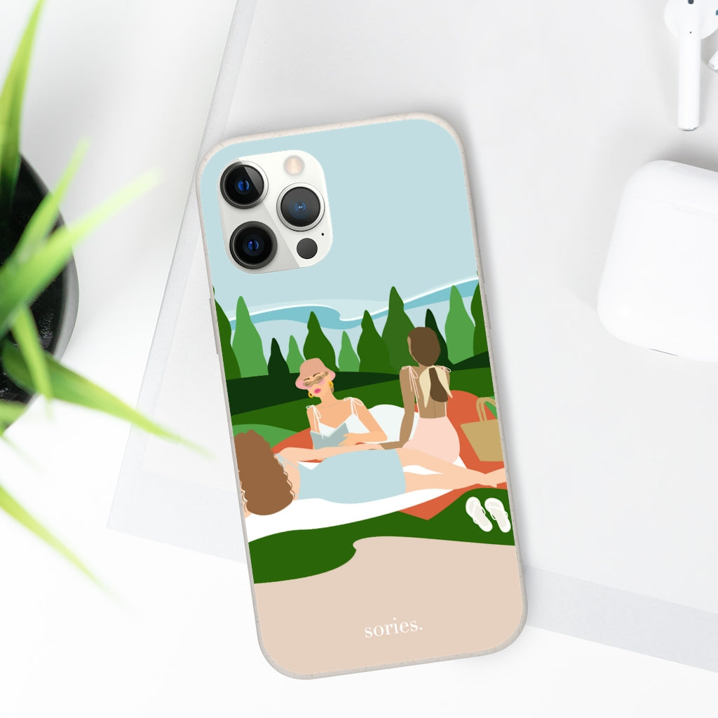 Sories Mountains Lover Biodegradable Case