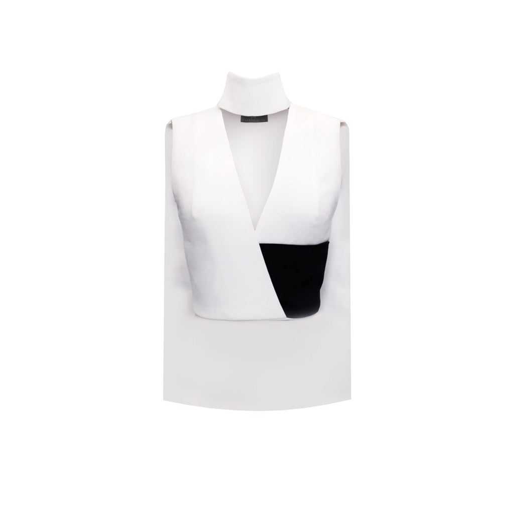 Choker V-Neck Top - SVH Official