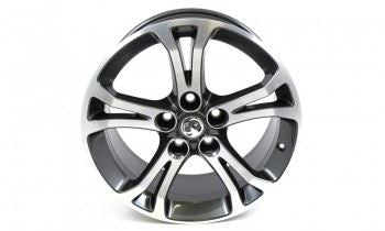 Insignia (2008-) 18 Inch 5 Double Spoke Alloy Wheels - Set of Four