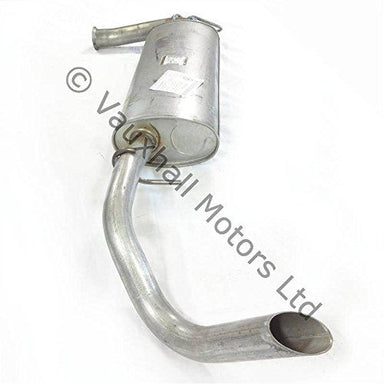 Genuine Vauxhall Movano A 1999-2010 Exhaust Rear Section / Back Box 9162599
