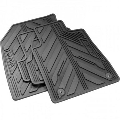 Mokka All Weather Rubber Mats (Set of Four)