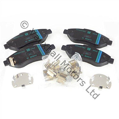 Genuine Vauxhall Corsa D 1.7Cdti 2006 Onwards Front Brake Pads 93192895
