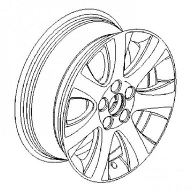 Meriva B (2010-) 16 Inch Alloy Wheels - Set of 4 with Winter Tyres