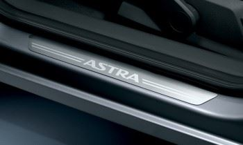 Astra Van (2007-) Door Sill Covers - Each