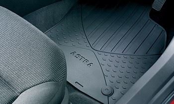Astra H Estate (2005-2010) Rubber Mats - Front Pair