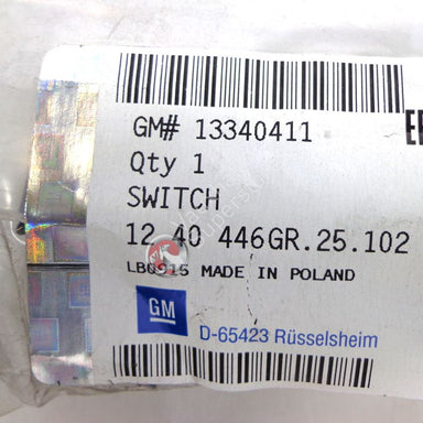 VAUXHALL SWITCH - GENUINE NEW - 13340411