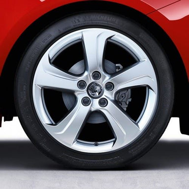 Corsa E VXR (2015-) 17 Inch, 5 Spoke Alloy Wheels - Set of 4 with Winter Tyres