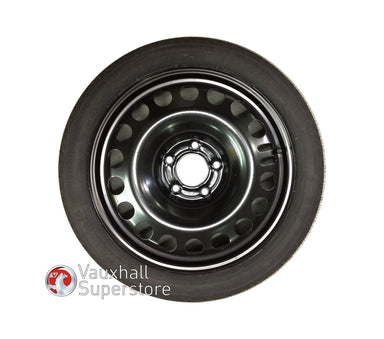 Insignia 16 Inch Steel Wheel, 4J X 16 (Space Saver) With Tyre