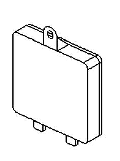 VAUXHALL CONTROL MODULE  - GENUINE NEW - 93459093