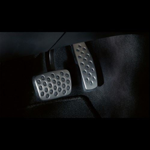 Astra K (VXR Styling) Stainless Steel Pedal Cover Set - Automatic