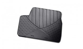 Astra TwinTop Rubber Mats - Rear Pair