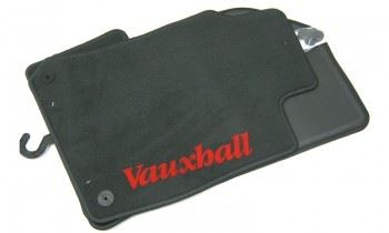Vectra B (1996-2001) Deluxe Velour Floor Mats - Anthracite Set of Four