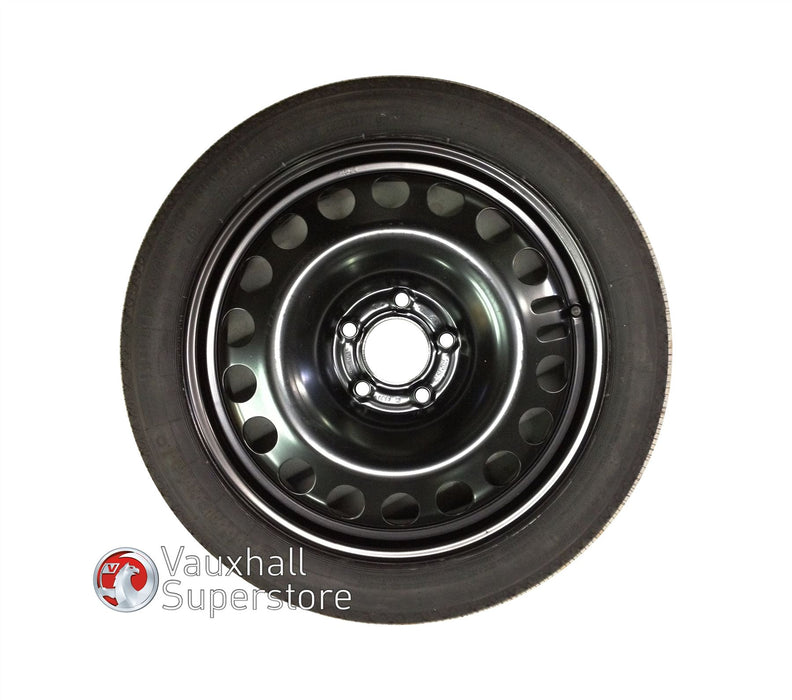 Zafira C Tourer Space Saver Wheel (With Continental Tyre)
