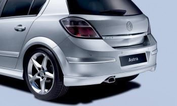 Astra H 3 Door (2005-) Rear Lower Skirt - Sport Hatch