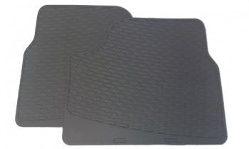 Corsa C (2001-2006) Rubber Mats - Rear Pair